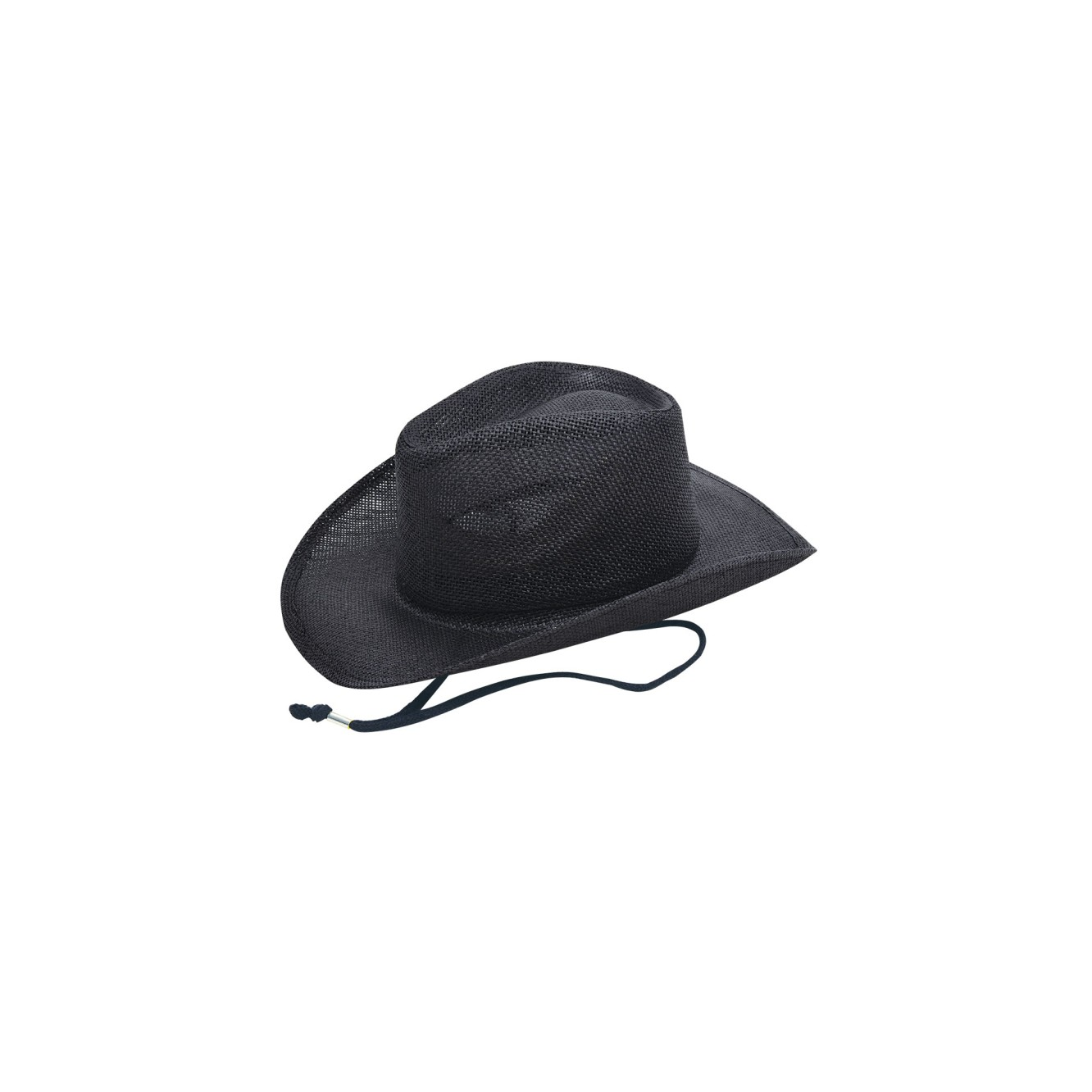 Cowboy hat with cord