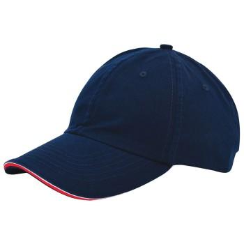 Duo colour sandwich cap