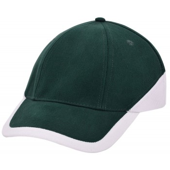 Duo colour cap 6 panel